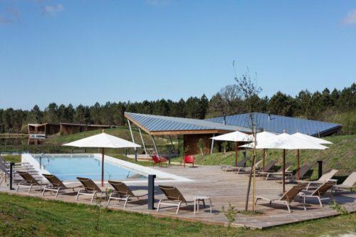 Eco Lodge Avec Piscine Et Restaurant Dans Les Landes