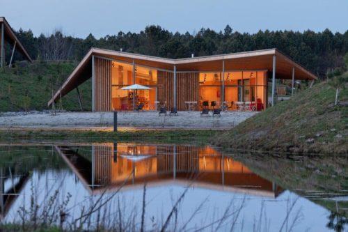 Eco Lodge Avec Restaurant Dans Les Landes
