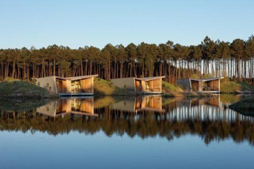 Eco Lodge Sur étang A L'aube