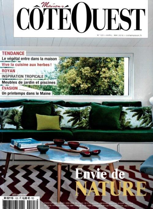 Côté Ouest Magazine Ecolodge Les Echasses Couv