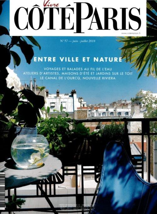 Côté Paris Magazine Ecolodge Les Echasses Couv