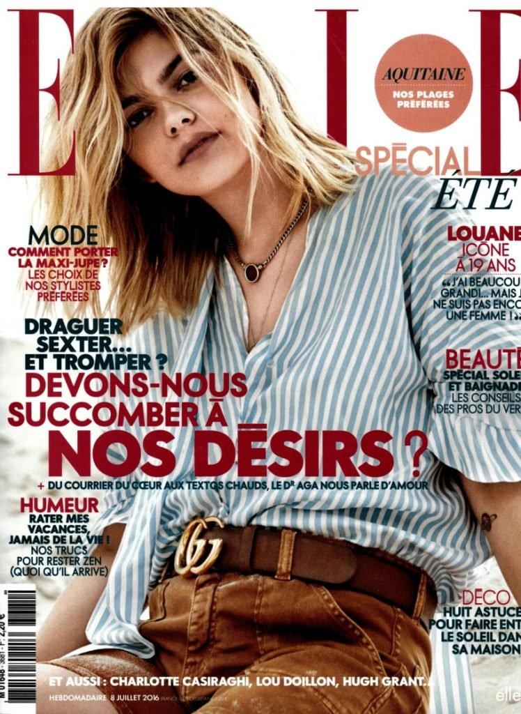 Elle Magazine Ecolodge Les Echasses Couv