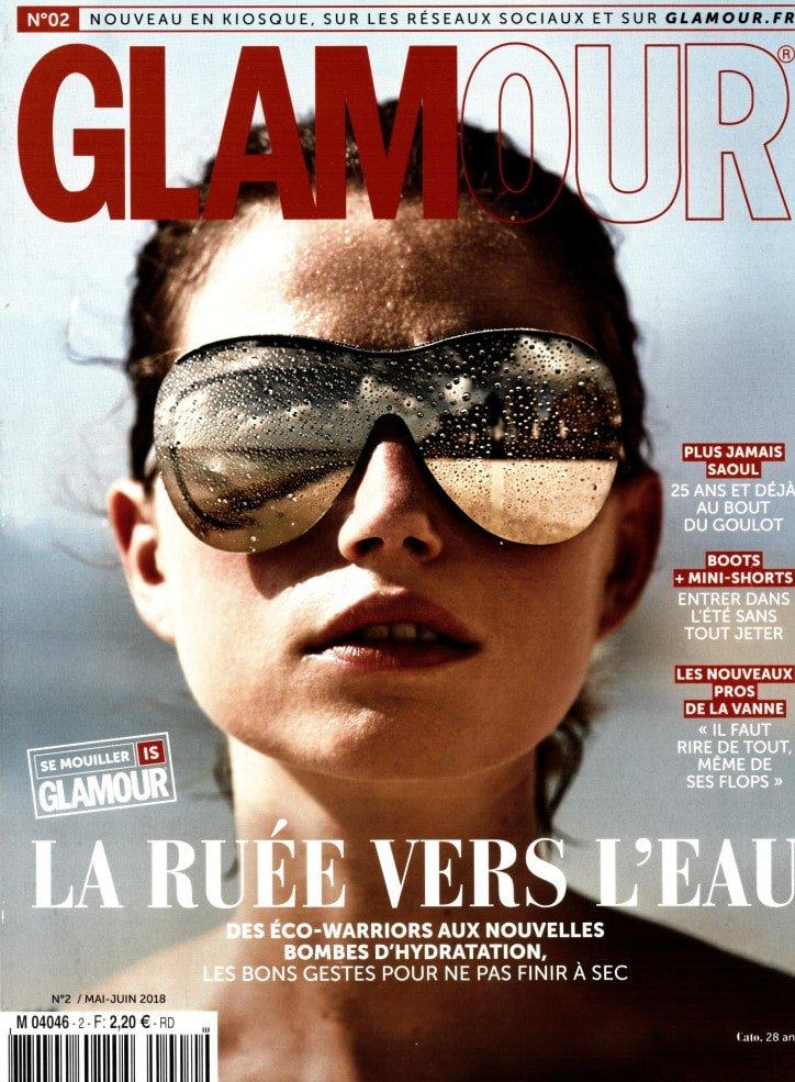 Glamour Magazine Ecolodge Les Echasses Couv