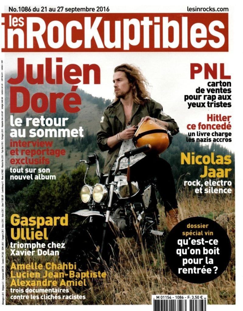 Les Inrocks Magazine Ecolodge Les Echasses Couv