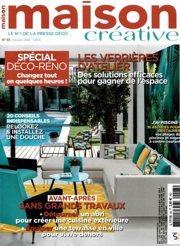 Maison Créative Magazine Ecolodge Les Echasses Couv